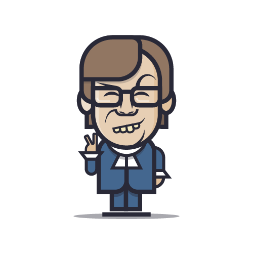 Loogmoji of Austin Powers