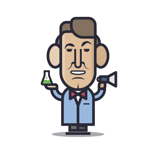 Loogmoji of Bill Nye