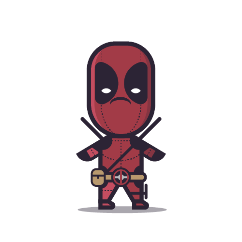 Loogmoji of Deadpool