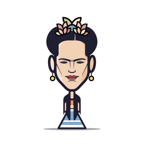 Loogmoji of Frida Kahlo