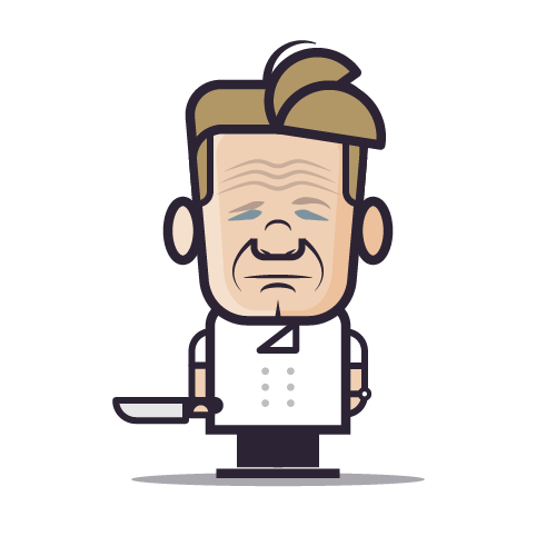 Loogmoji of Gordon Ramsay