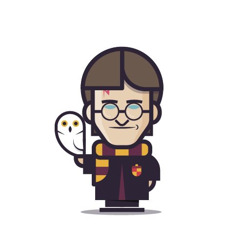 Loogmoji of Harry Potter