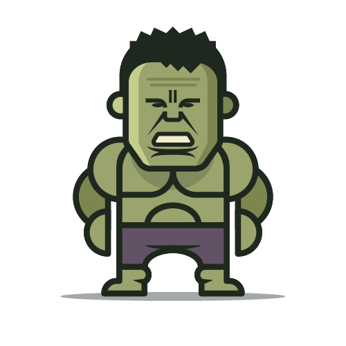 Loogmoji of The Hulk