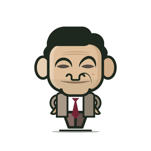 Loogmoji of Mr. Bean