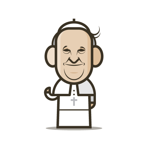 Loogmoji of Pope Francis