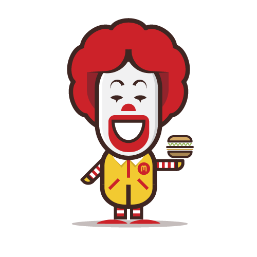Loogmoji of Ronoald McDonald