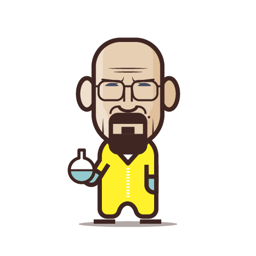Loogmoji of Walter White