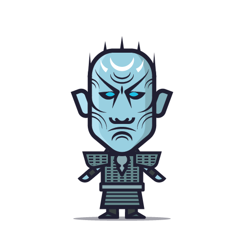 Loogmoji of The White Walker Night King