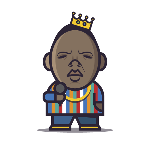 Loogmoji of Biggie