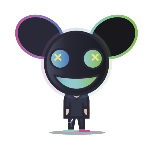 Loogmoji of Deadmau5
