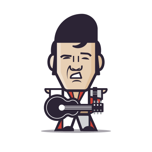 Loogmoji of Elvis Presley