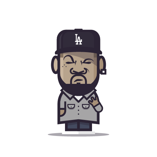 Loogmoji of Ice Cube