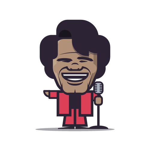 Loogmoji of James Brown