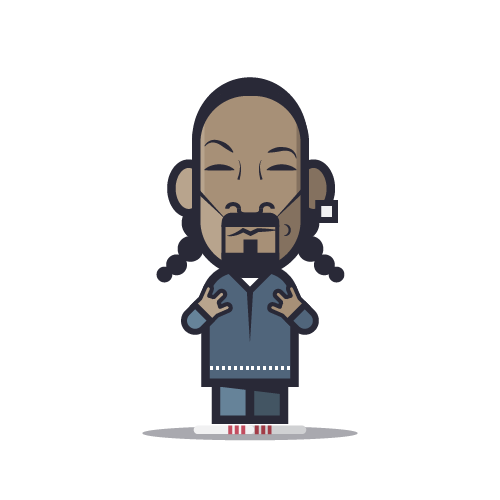 Loogmoji of Snoop Dogg
