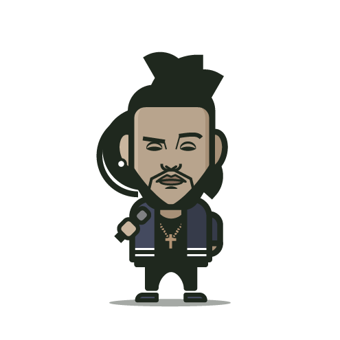 Loogmoji of The Weeknd