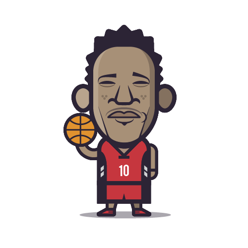 Loogmoji of Demar DeRozan