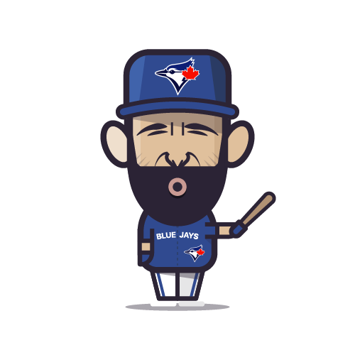 Loogmoji of Jose Bautista
