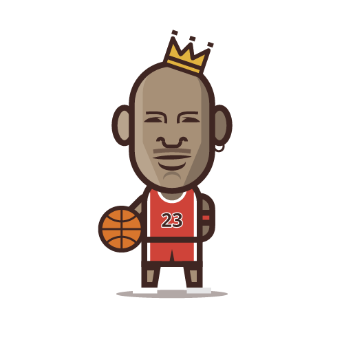Loogmoji of Michael Jordan