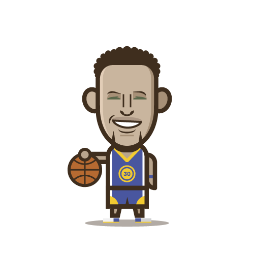 Loogmoji of Stephen Curry