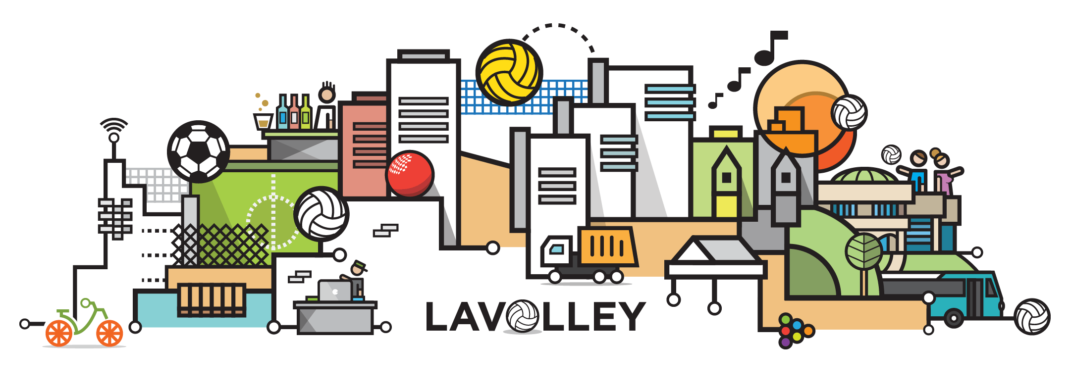 la-volley-cityline-illustration-by-loogart