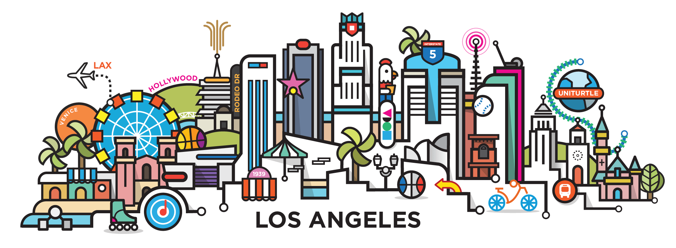 los-angeles-cityline-illustration-by-loogart