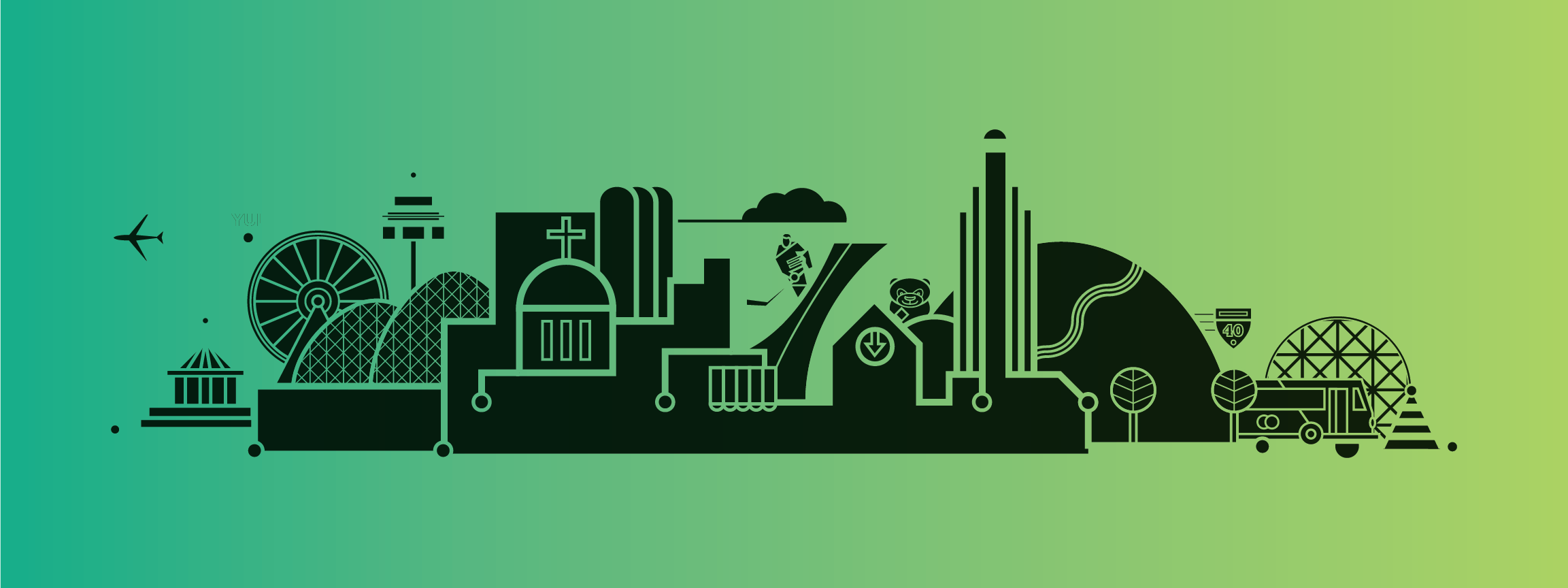 montreal-green-edition-illustration-by-loogart