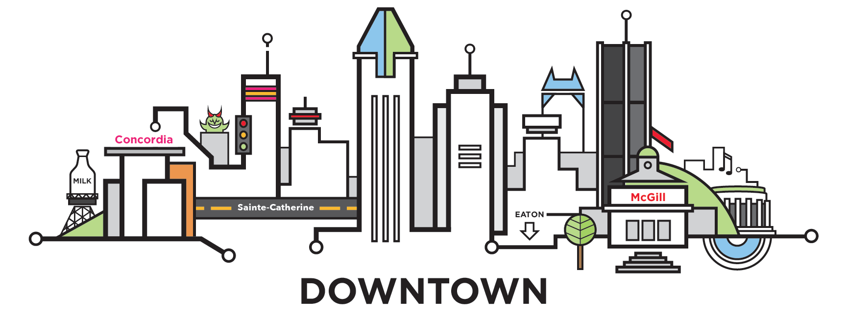 downtown-mtl-cityline-illustration-by-loogart