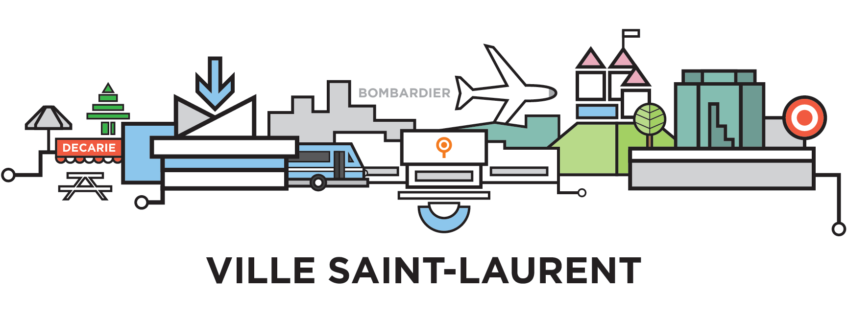 mtl-ville-saint-laurent-cityline-illustration-by-loogart